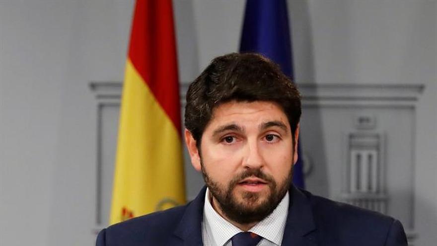 """El presidente de Murcia considera """"rotundamente injusto"""" el cupo vasco"""