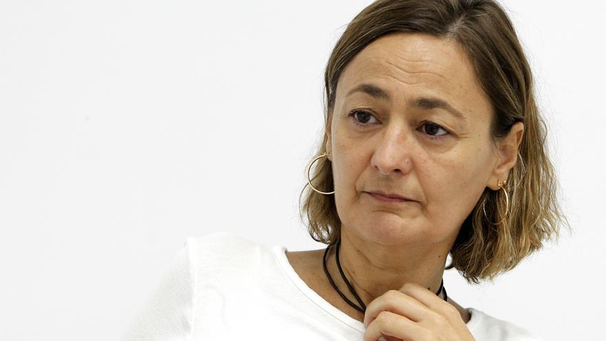 La secretaria de Empleo del PSOE, Mari Luz Rodríguez. Foto: Marta Jara
