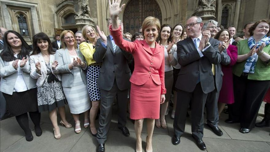 Los independentistas escoceses aterrizan en Westminster