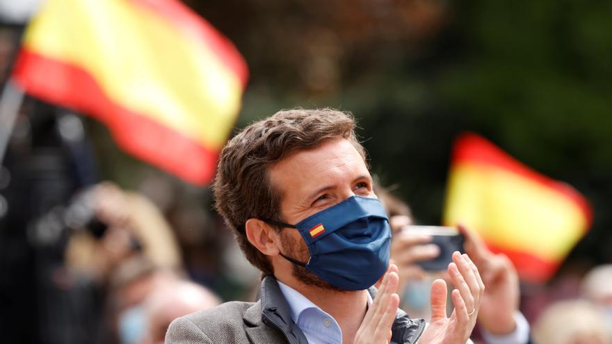 PP y Cs presumen de la creación de empleo en Madrid a pocos días del 4M