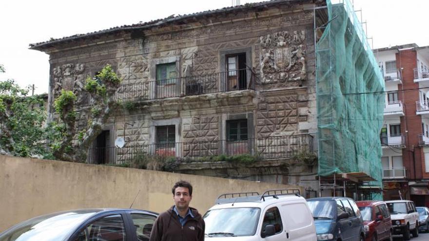 Palacio de Chiloeches, en Santoña.