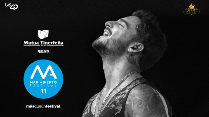 Cartel del concierto de Maluma en Gran Canaria