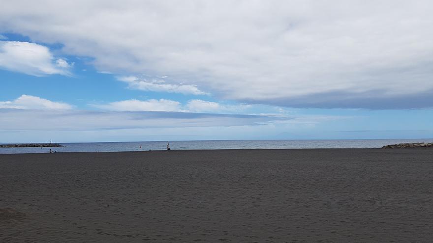 Cielo con nubes en La Palma.