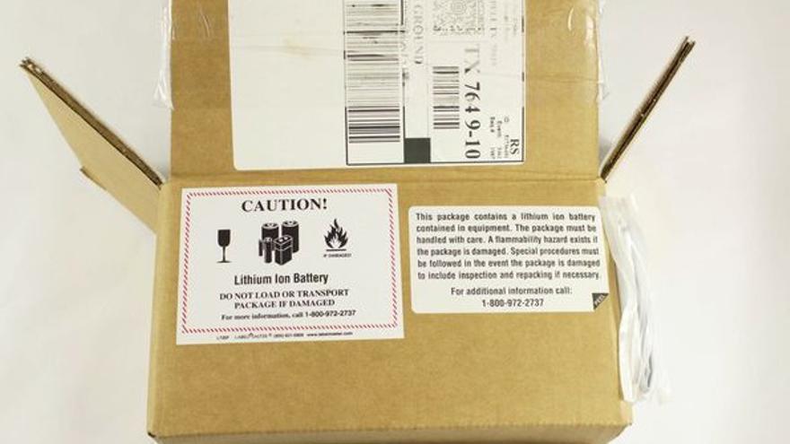 Caja del kit de devolución de Samsung