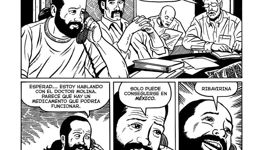 Viñetas de 'Trapicheos en la Segunda Avenida' de Joyce Brabner y Mark Zingarelli