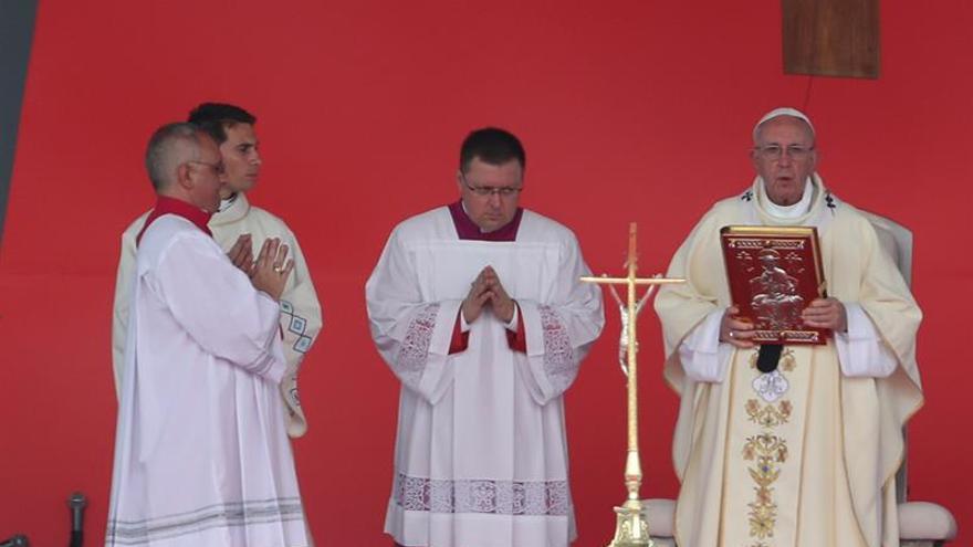 El papa advierte que la paz en Colombia sin reconciliación será un fracaso
