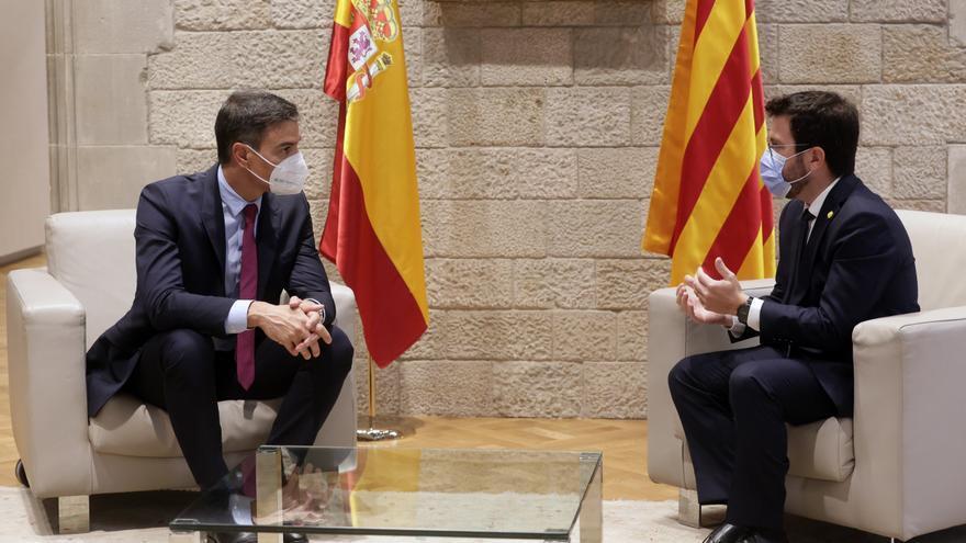 """Aragonès pide """"tiempo y perseverancia"""" en defensa de una amnistía y un referéndum"""