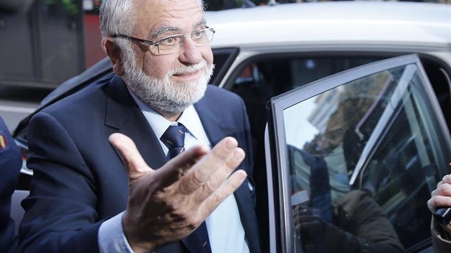 El expresidente de las Corts, Juan Cotino