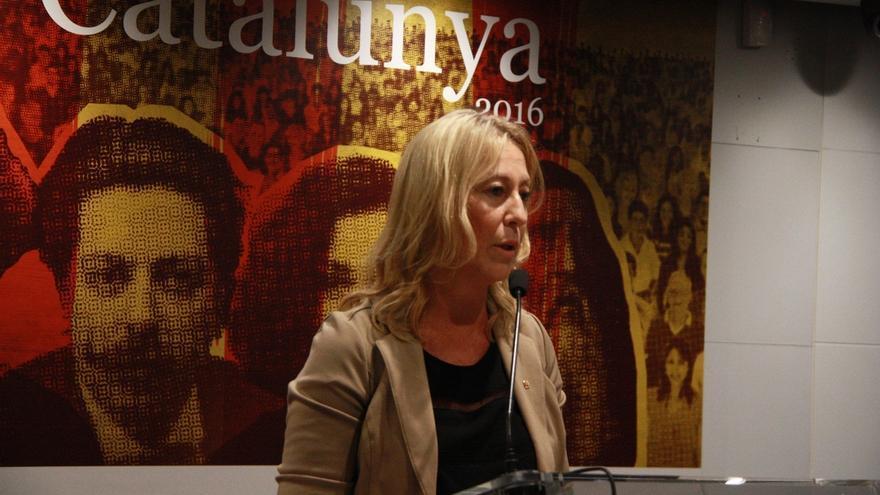 """Munté, en la Diada en Madrid: """"El Estado español no funciona para Cataluña, ni para los españoles"""""""