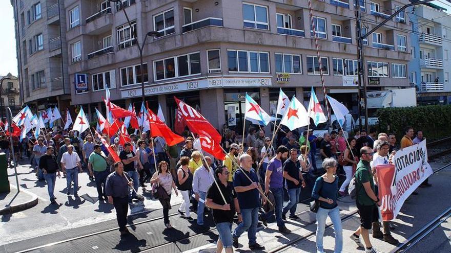 """Una nueva manifestación denuncia la """"explotación laboral"""" en Servicarne"""