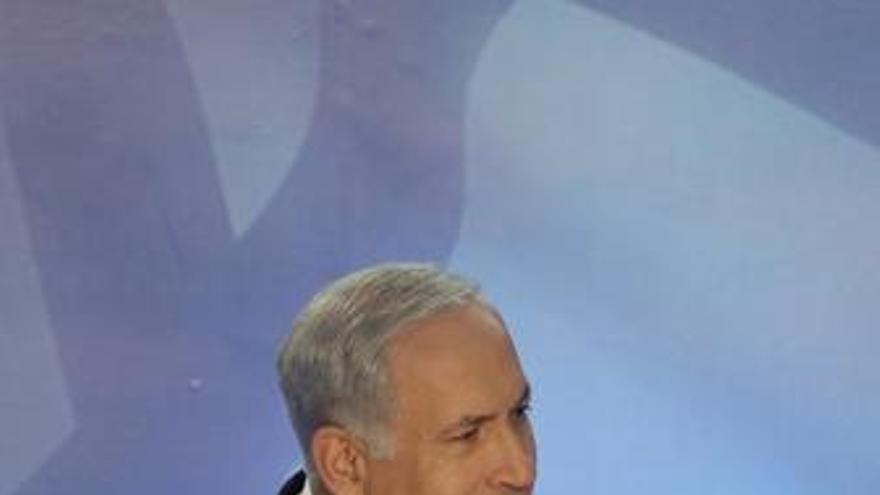 Netanyahu advierte de que no habrá un Estado palestino sin negociación