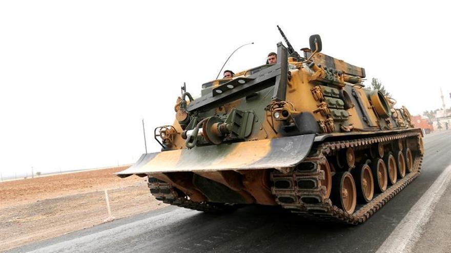 El Estado Islámico pierde el control de sus últimas poblaciones junto a la frontera turca