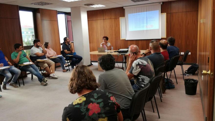 Grupo que participa en el curso de responsable de localizaciones que ha organizado La Palma Film Commission.