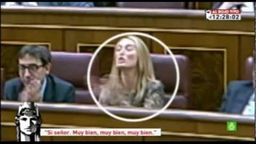 Andrea Fabra, diputada del PP, 2012