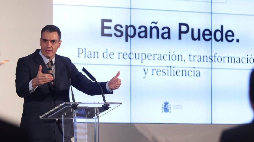 Sánchez presenta el plan del Ejecutivo para la recuperación de la economía española