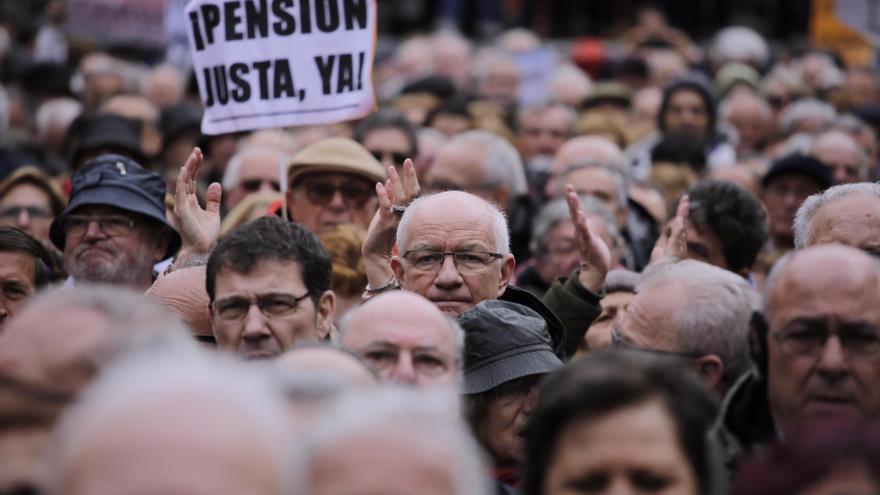 Este sábado vuelven a repetirse las manifestaciones de pensionistas