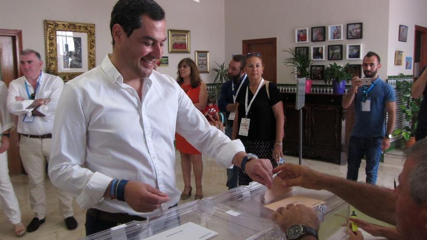 """Moreno (PP-A) pide acudir """"masivamente"""" a las urnas porque """"cada voto cuenta y va a decidir mucho"""""""