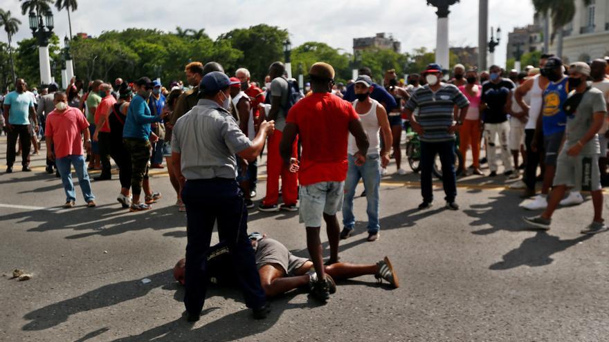 La ONU, preocupada por la muerte de un manifestante en Cuba