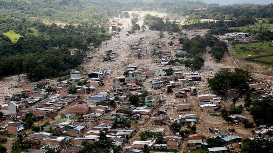 Damnificados de la avalancha en Mocoa hablan con el papa Francisco en Villavicencio