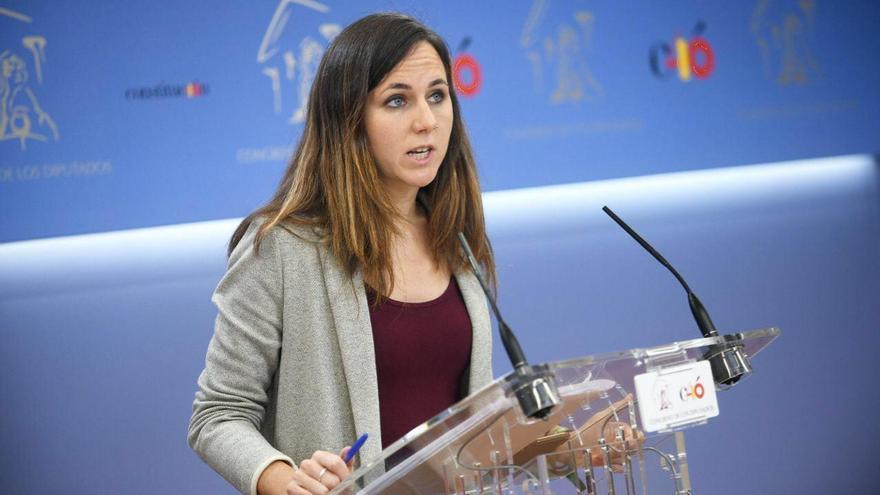 Ione Belarra, de Unidas Podemos