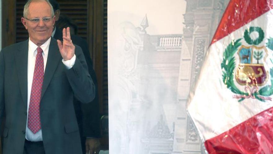 Kuczynski buscará que la Policía de Perú sea la mejor de América Latina en 2021