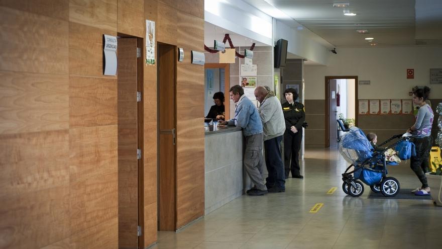 Un centro de salud en Andalucía