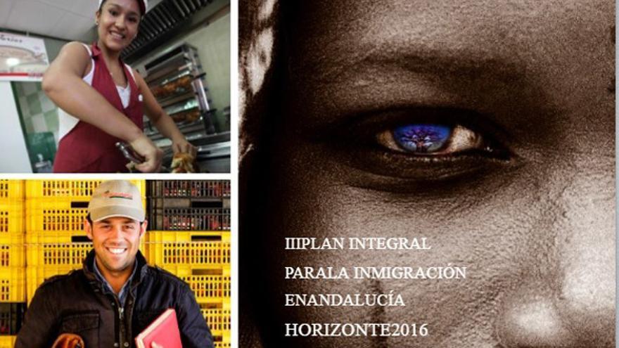 Imagen de 'Horizonte 2016', el último plan integral de inmigración aprobado por la Junta, en 2014