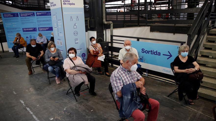 Casi una cuarta parte de los catalanes ya tiene puesta una dosis