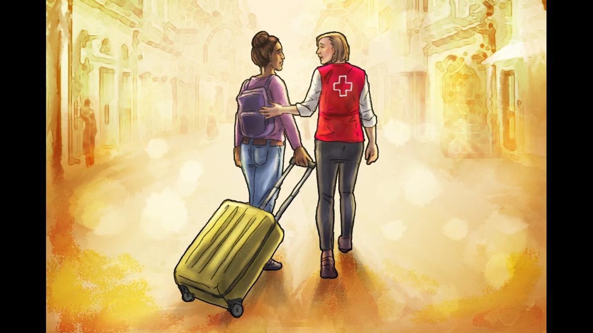 Imagen del cortometraje 'La vida de las mujeres refugiadas'
