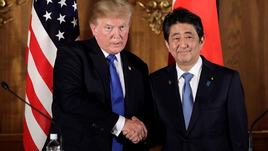 Trump parte hacia Corea del Sur, segunda parada de su gira asiática
