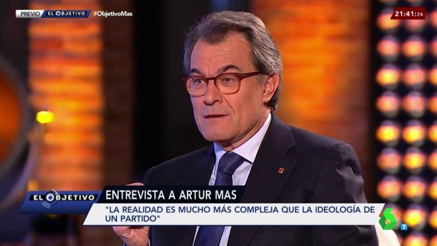 Artur Mas en El Objetivo de laSexta
