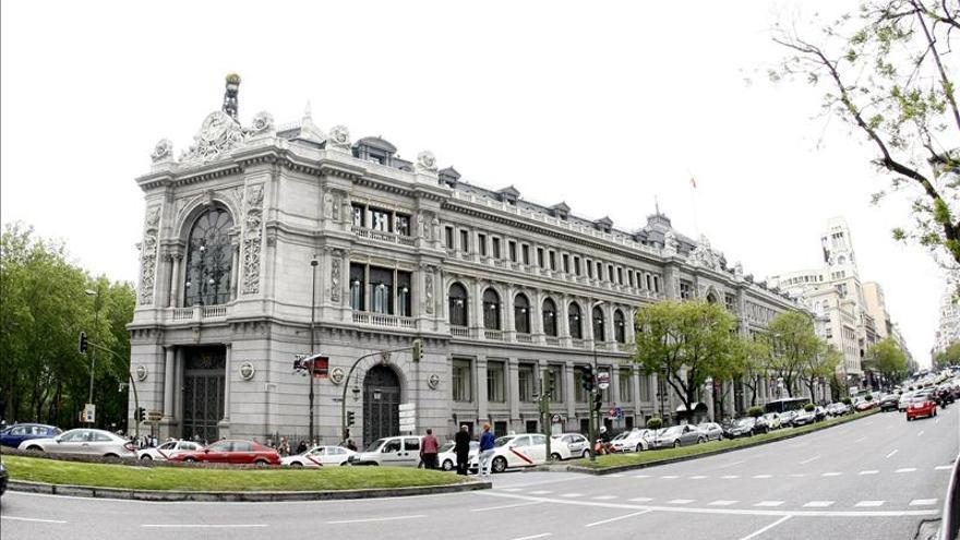 Dos heridos graves en un incendio en el Banco de España