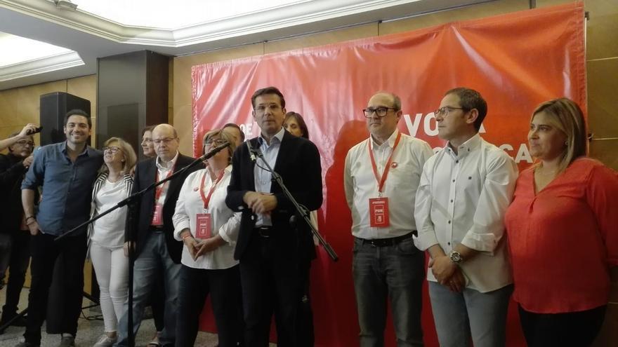 """Cuenca (PSOE) iniciará contactos con todos los partidos para dar """"estabilidad"""" a la ciudad"""