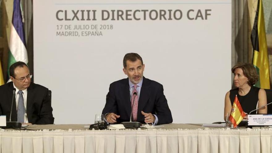 """Felipe VI: """"España pone en Iberoamérica corazón, talento y recursos"""""""