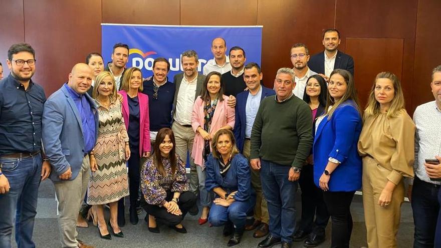 Delegación del PP de La Palma en Gran Canaria.