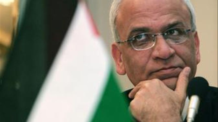 Jefe negociador palestino, Saeb Erekat