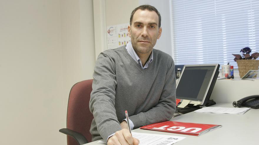 José Luis Manías, presidente del comité de empresa de Volkswagen Navarra.