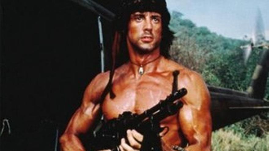 13TV dispara primero en la noche temática del 2016 con 'Rambo 2'