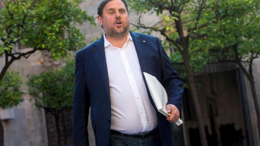 """Junqueras califica las acusaciones de Fiscalía de """"palos de ciego del Estado"""""""