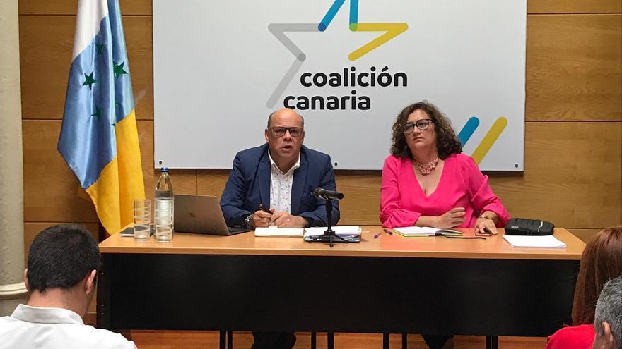 José Miguel Barragán y Guadalupe González Taño este sábado.
