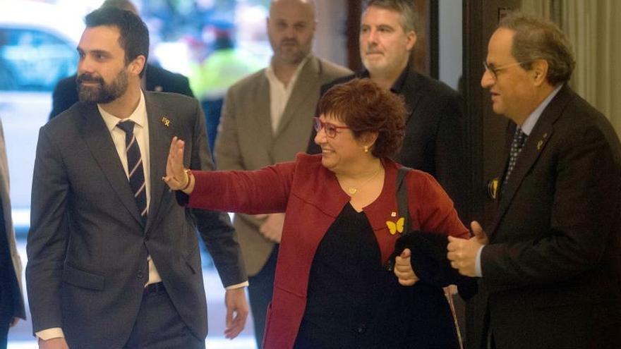 Los presos del 1-O vuelven al Parlament para comparecer en comisión del 155