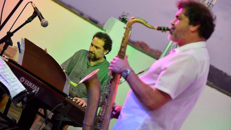 Kike Perdomo y David Quevedo.