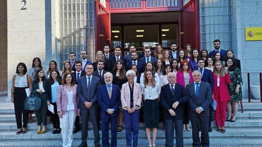 Inauguración en el Centro de Estudios Jurídicos del curso de formación de la 57 ª promoción de Fiscales