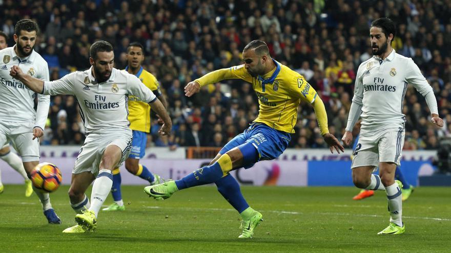 La UD Las Palmas dio la gran sorpresa de la jornada.