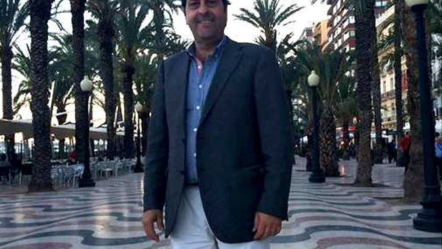 El diputado provincial de Ciudadanos en Alicante, Fernando Sepulcre.