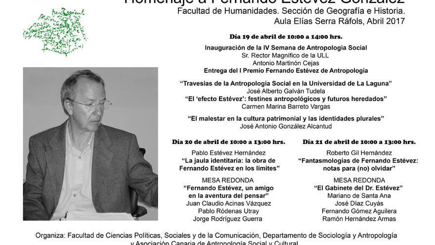 Cartel de la convocatoria académica de la ULL