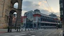 Bilbao, vacío en los momentos más duros de la pandemia