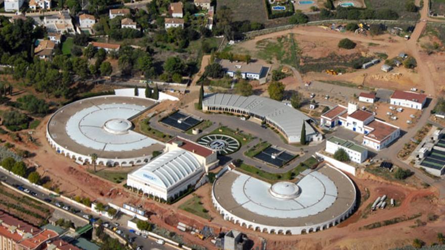 Instalaciones de Emacsa en la central de Villazul.