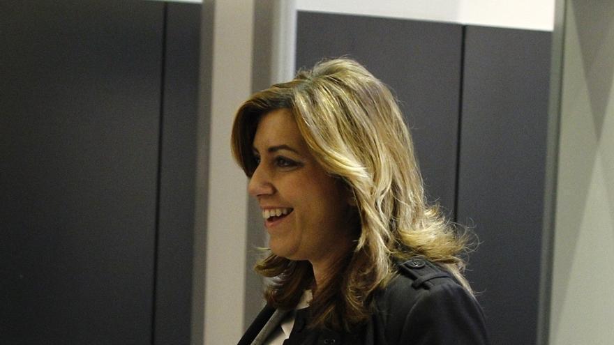 Susana Díaz visitará Barcelona el jueves para reunirse con Iceta y con más de 200 partidarios