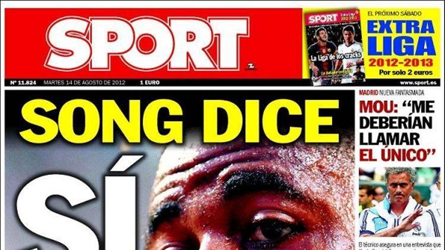 De las portadas del día (14/08/2012) #15